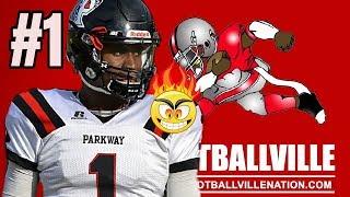 Louisiana #1 quarterback - justin rogers 6'4/2018  - parkway high