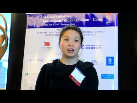 2017 2nd Annual International Shipping Forum - China - Interview with Ms. Valerie Lee