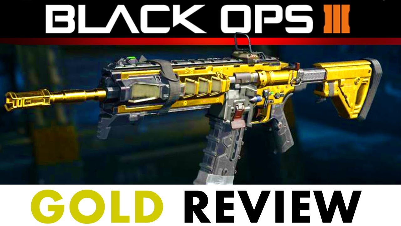 The Gold Review Icr 1 Assault Rifle Call Of Duty Black Ops 3 In