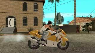 GTA SA SUZUKI GSX1300R HAYABUSA [HD] 720p