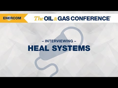 Heal Systems CEO Jeff Saponja at EnerCom's 2017 Oilfield Tech & Innovation Day