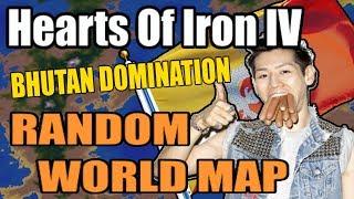 Hearts Of Iron 4 RANDOM WORLD MOD - BHUTAN DOMINATION