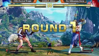 Phoenix Down #28 SFV Round Robin Round 3. TMG Percival Wright (Kolin) vs Par Millennium Storm (Vega)