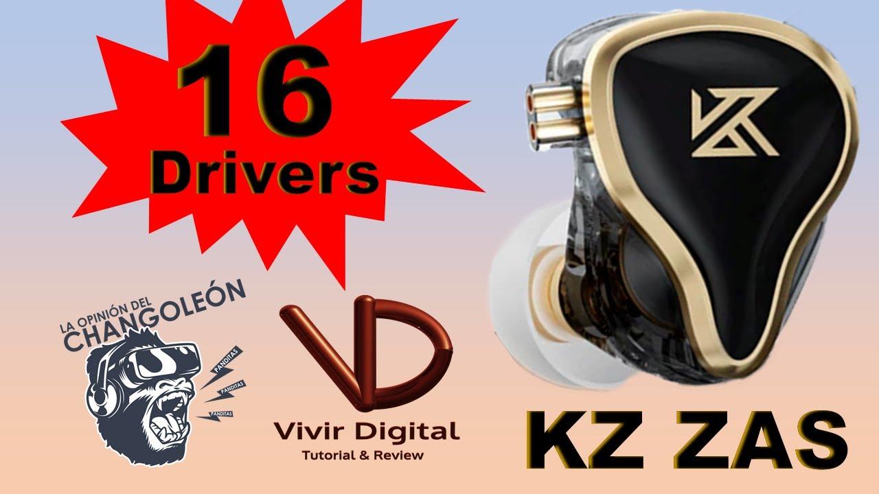 KZ ZAS un Auricular que vale la pena conocer.