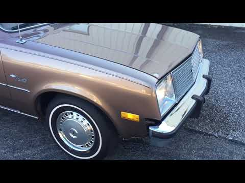 1980 Chevy Chevette 41K Miles Video