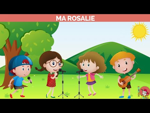 Le Monde d'Hugo - Ma Rosalie - Vidéo-Karaoke