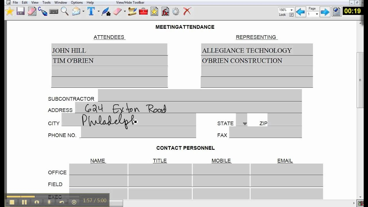o brien construction bid form demo o brien construction bid form demo