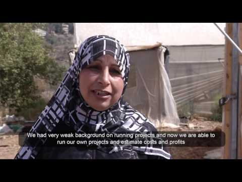 Occupied Palestinian Territory - Encouraging women to work independently