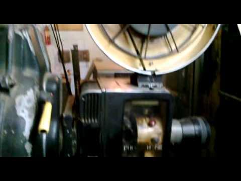Film Projector AMAR Cinema Kotkapura Punjab India