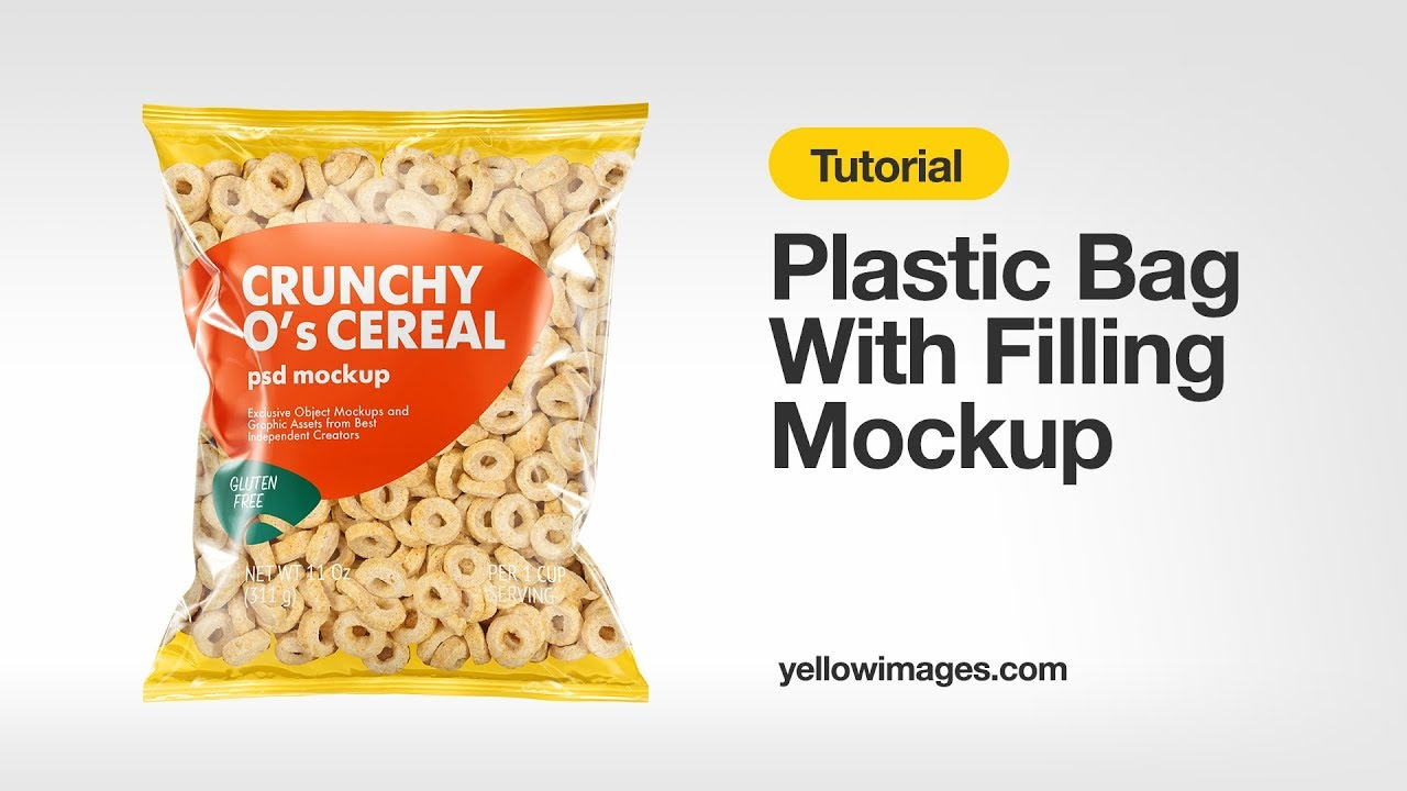 Download Yellow Images Tutorial How To Use A Mockup Plastic Bag With Corn Salad Mockup Youtube PSD Mockup Templates