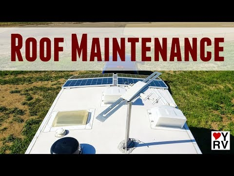 Routine RV Roof Maintenance (Inspection and Leak Protection)