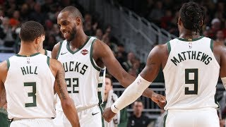 Highlights: Bucks 117 - Pacers 89 | 12.22.19
