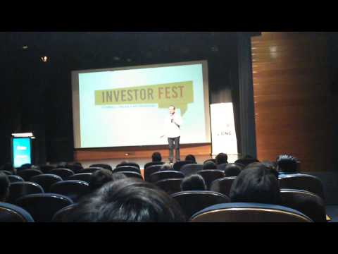 Skinner Layne Exosphere Founder talk at the Chile Invest Festival 2015