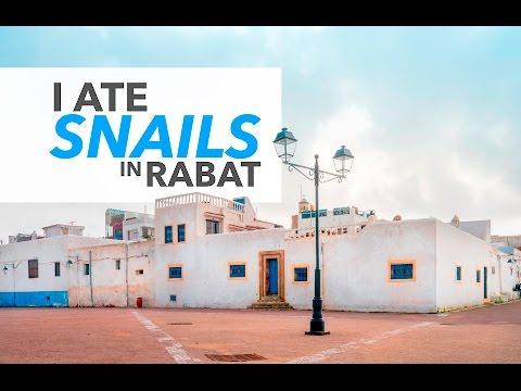 I ate SNAILS in Rabat, Morocco - James Goode Vlog
