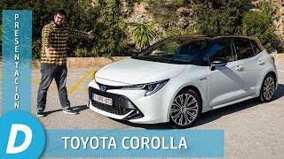 Toyota Corolla 2019 Hybrid | Primera prueba | Review en español | Diariomotor
