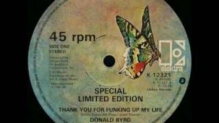 Donald Byrd - Thank you for funking up my life (12 inch)