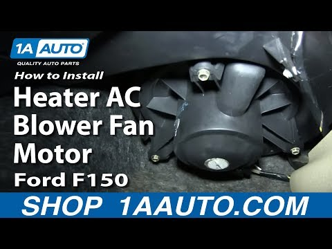 How To Replace Heater AC Blower Fan Motor 04-08 Ford F150