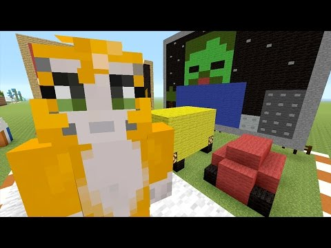 Minecraft: Xbox - Building Time - Movie Night {80}