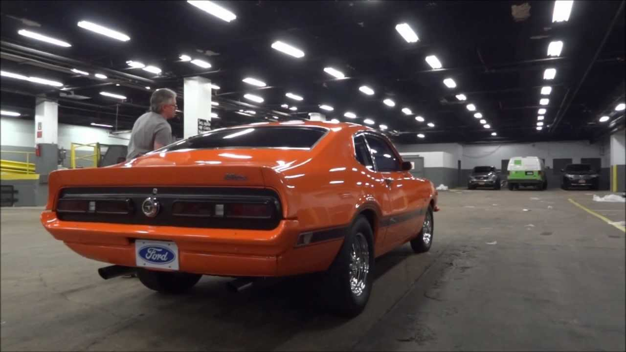 1972 ford maverick grabber youtube
