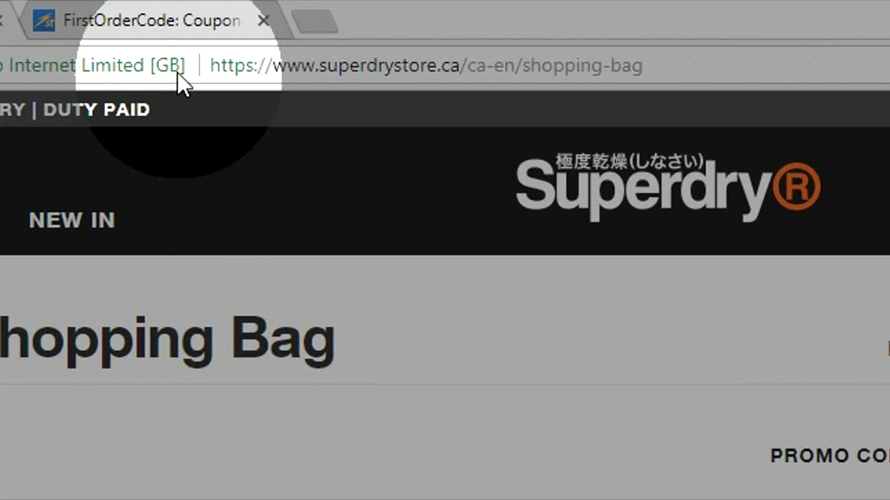 how to apply superdry promo code youtube