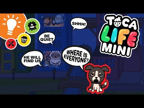 Toca Life: Minis (Toca Boca) ★ Episode 30 ★ The Party ★ Cats vs. Dogs