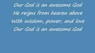 Awesome God - Rich Mullins w/ Lyrics