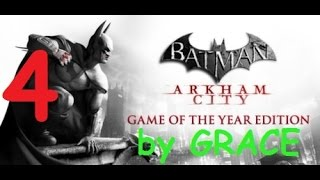 BATMAN ARKHAM CITY gameplay ITA EP 4 CATWOMAN E POISON IVY by GRACE