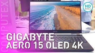 Gigabyte AERO 15 OLED 4K: notebook compatto e potente per i creator | COMPUTEX 2019