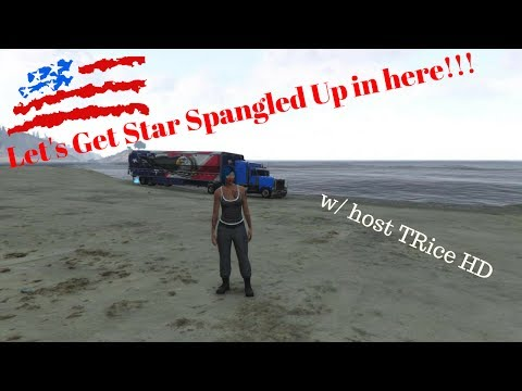 Let's get Star Spangled up in here! #TEAMLIVE W/ host TRice HD