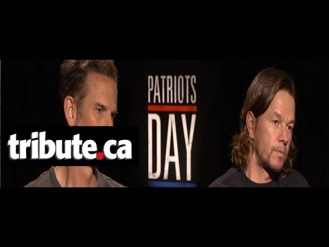 Mark Wahlberg & Peter Berg - Patriots Day Interview