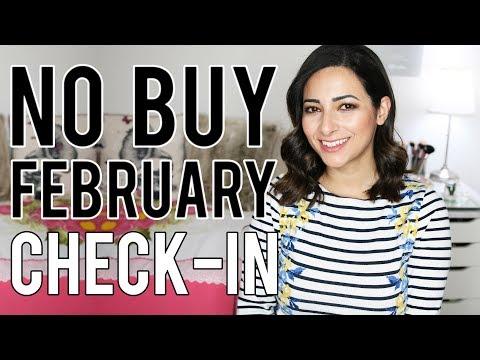 FEBRUARY 2019 CHECK IN  £540 SAVED  My No Buy Year  Ysis Lorenna