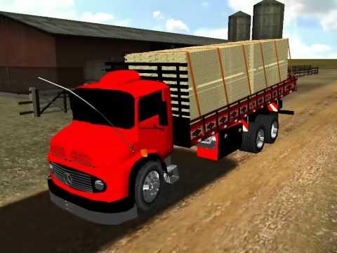 caminhoes tunados para 18 wheels haulin