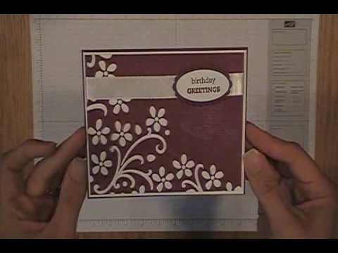 Dry Emboss Coloring Technique