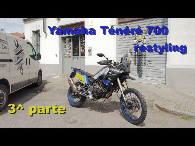 Yamaha Ténéré 700 RESTYLING terza parte