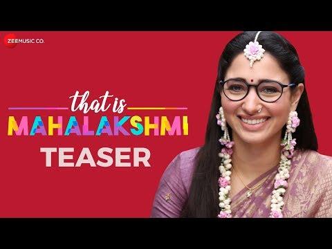 That Is Mahalakshmi - Official Movie Teaser | Tamannaah | Amit Trivedi