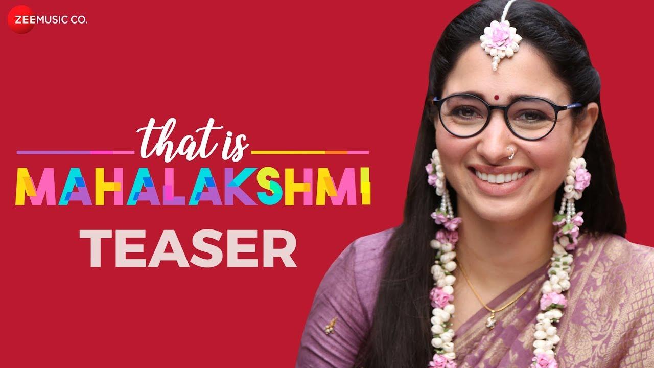 Download That Is Mahalakshmi - Official Movie Teaser | Tamannaah | Amit Trivedi