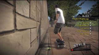Tony Hawk: RIDE (PS3) Free Skate: Central Park