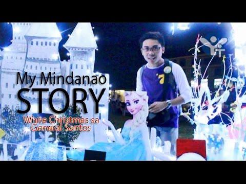 White Christmas sa Plaza Heneral Santos - My Mindanao Story