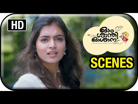 Om Shanti Oshana Movie Scenes HD | Nivin Pauly helps Nazriya Nazim and her parents | Renji Panicker