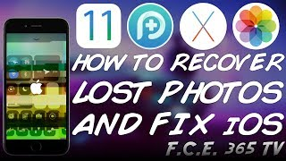 How to Recover Lost/Deleted Data on iOS 11 and iOS 10 / Fix iPhone in Recovery Mode