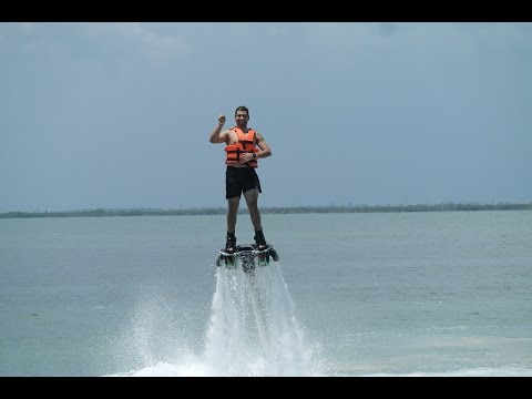 Learn To Fly in Flyboard #GoPro