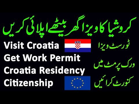 Croatia Visit Visa - Work Permit And Residence Permit | Process & Requirements | 2019