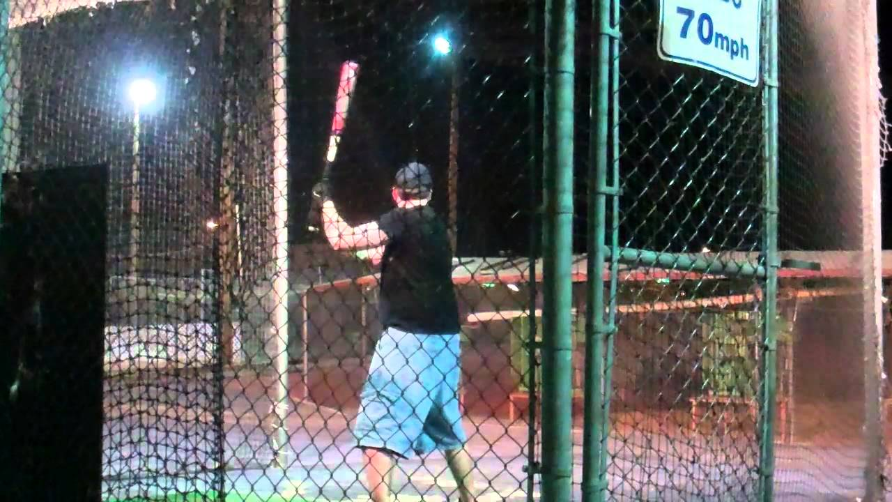 nathan ryley best batting cage left handed youtube