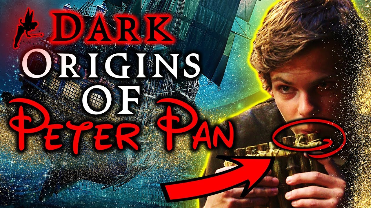 Peter Pan's Dark Origins: A Place Your Child's Eyes Should Never Land - LED