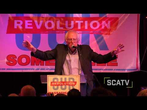 Bernie Sanders speaks at Our Revolution Somerville rally - October 23, 2017