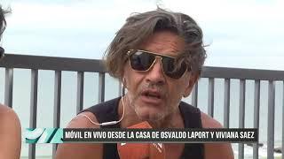 Ddiez | Móvil en vivo desde la casa de Osvaldo Laport y Viviana Sáez
