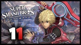 Super Smash Bros Ultimate Part 11 Story Mode World of Light! Shulk Battles Monster!