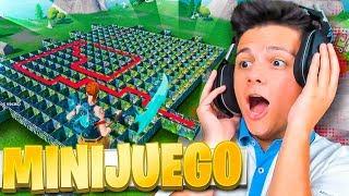 ¡El LABERINTO DEL CAMPERO!! *MINIJUEGO MODO CREATIVO* - Fortnite