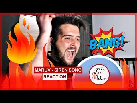 MARUV - Siren Song - REACTION