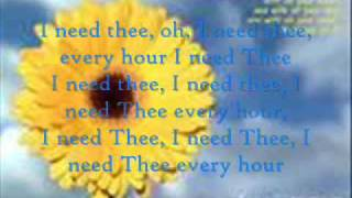 Watch Jars Of Clay I Need Thee Every Hour video